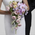 Cascade wedding bouquet