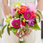 How much do wedding flowers cost: Custom Bridal bouquet